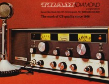 TRAM D201 23 Channel Valve Base Station CB Radio