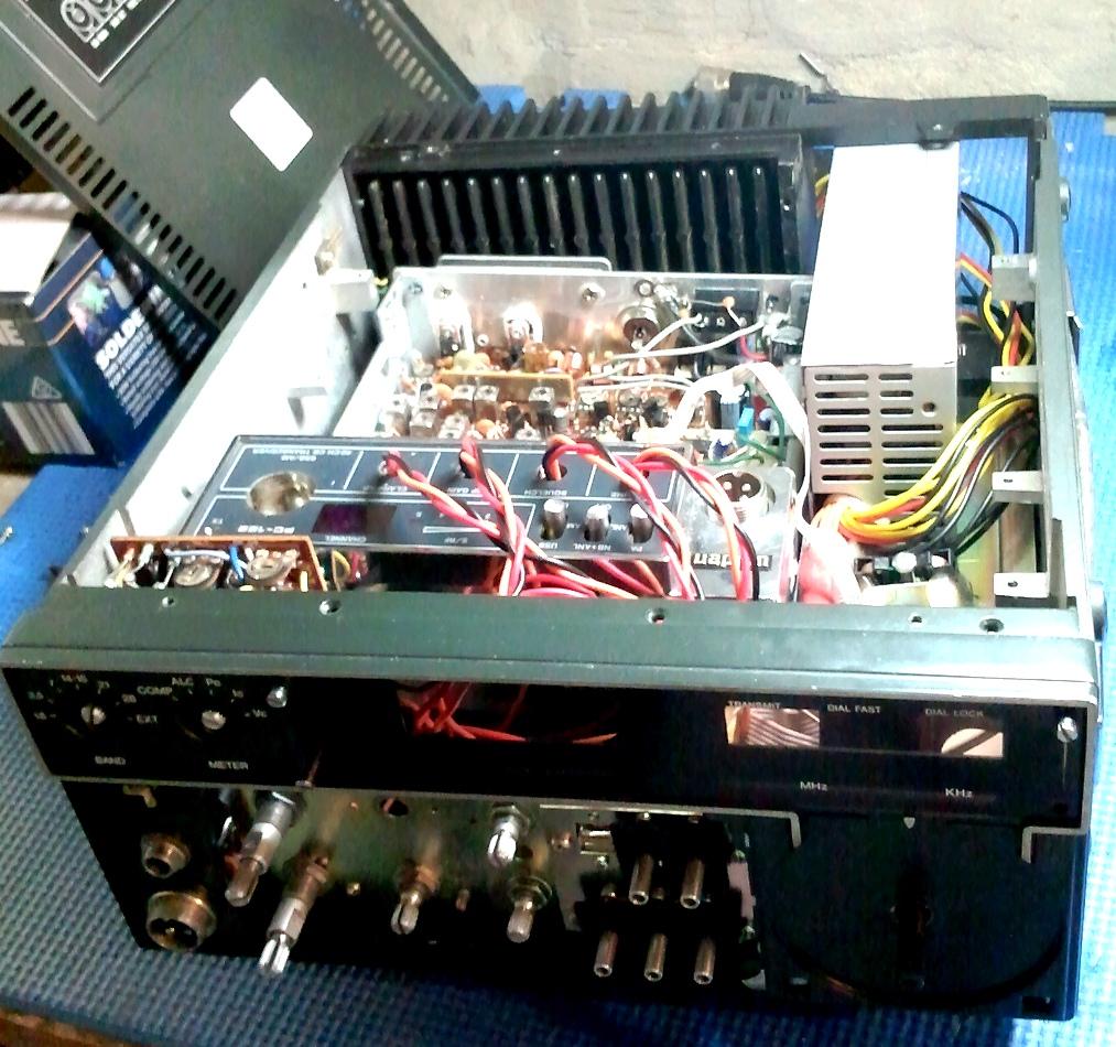 Uniden PC-122 into ICOM IC701