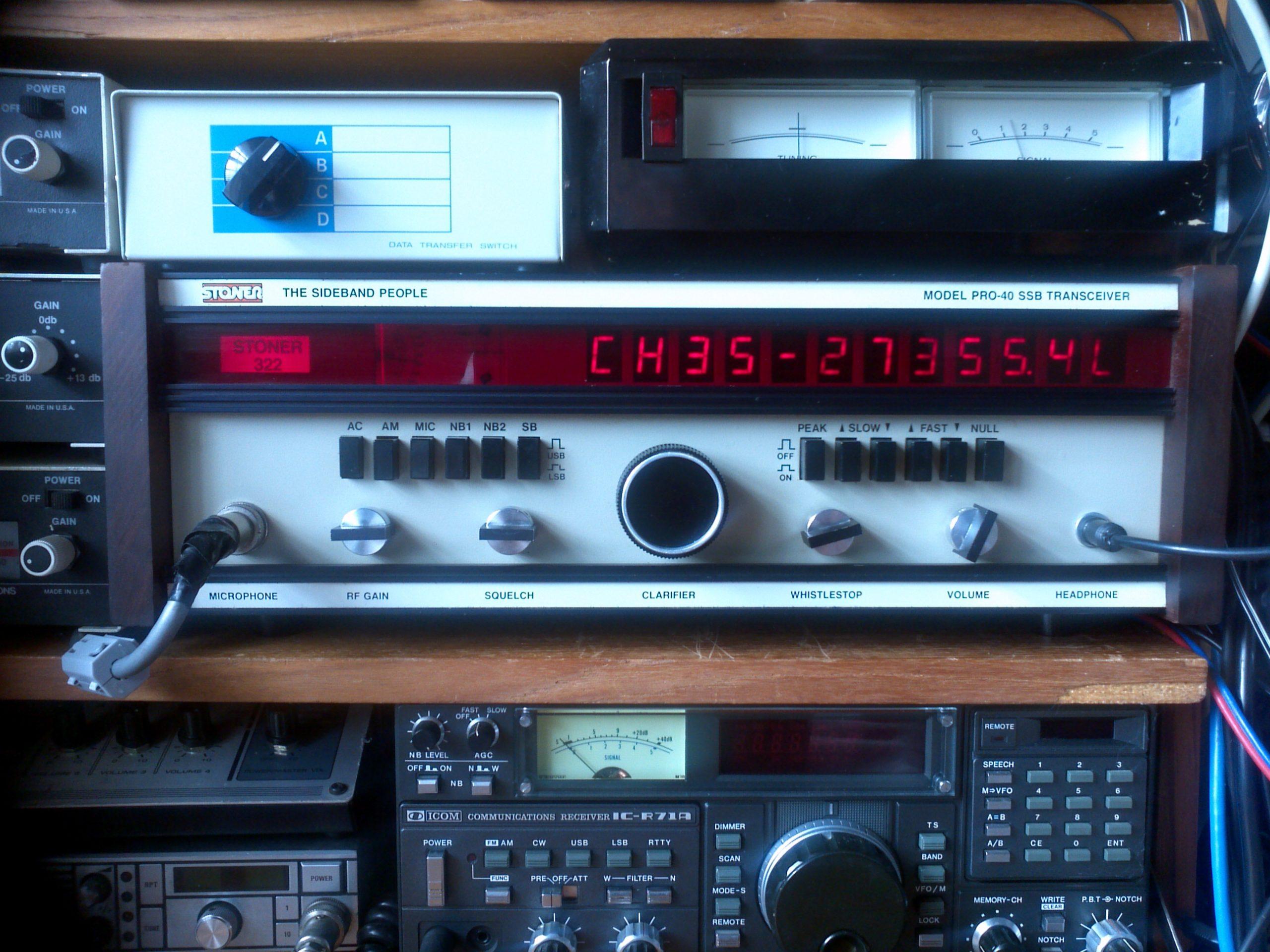 Stoner Pro 40 CB Radio SSB Base